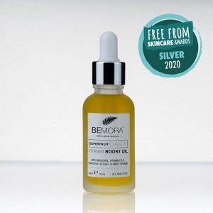Superfruit Daily Vitamin Boost Oil won Silver at the Free From Skincare Awards 2020